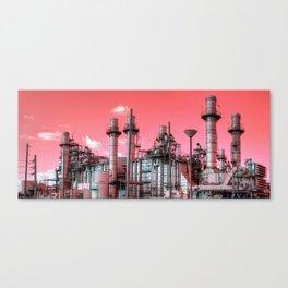 Refinery Panorama Canvas Print