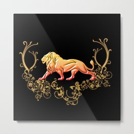 The lion Metal Print