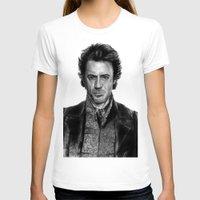 sherlock holmes T-shirts featuring Sherlock Holmes by ChrisPastel
