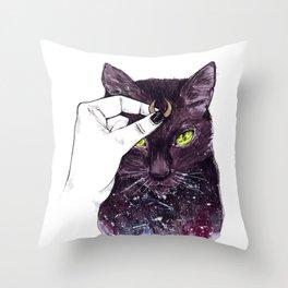 Luna Costume Throw Pillow