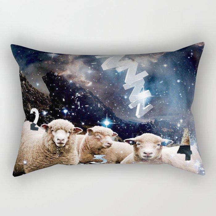 Counting Sheep II Rectangular Pillow
