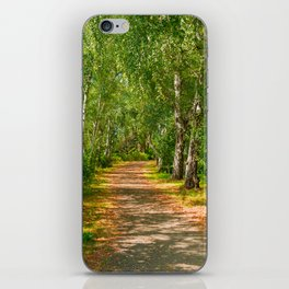 Path to happiness iPhone Skin