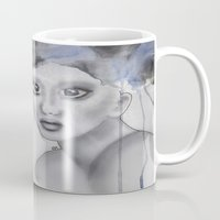 depression Mugs featuring Depression II by katimarco