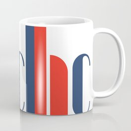 Bauhaus Joschmi Xants Repetition Font Art Coffee Mug