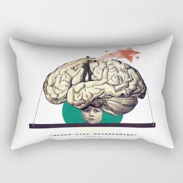 """... never stop daydreaming."" Rectangular Pillow"
