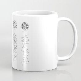 DNA helix Coffee Mug