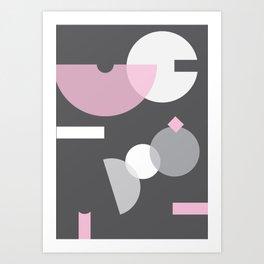 Geometric Calendar - Day 35 Art Print