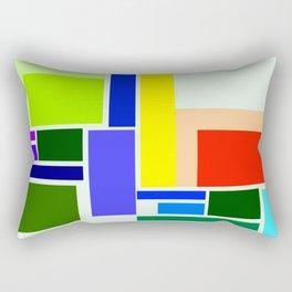 colorful pattern Rectangular Pillow