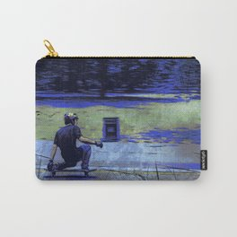 Just Cruisin'  - Skateboarder Carry-All Pouch