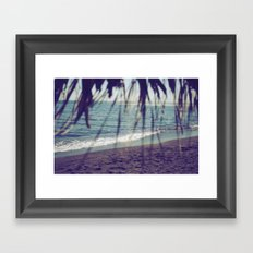 Turquoise Bliss Framed Art Print