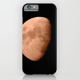 4K Dark Side of the Moon Blood Orange iPhone Case