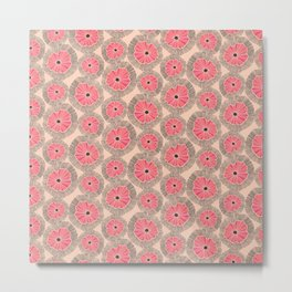 Flower Collection 2014 / Floral Pattern N5 Metal Print