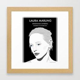 Laura Marling Poster Framed Art Print