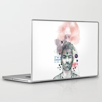 pagan Laptop & iPad Skins featuring I'm a pagan of the good times by True Colors
