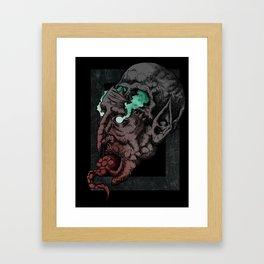 Deamon Inside Us Framed Art Print