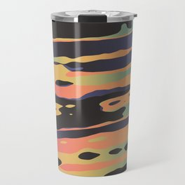 Trippy Dawntime Travel Mug