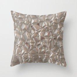 Rocks wall Throw Pillow