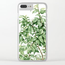 botanic Clear iPhone Case