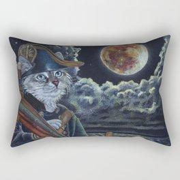 Sea Captain Cat Rectangular Pillow