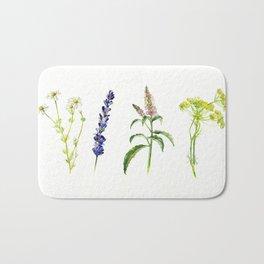 Tea Flowers Bath Mat