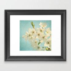 Vintage Spring Blossoms Framed Art Print