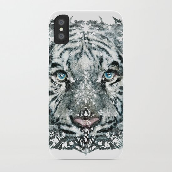 The White Tiger (Classic Version) iPhone Case