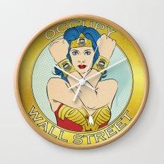 Occupy Wall Street Wall Clock