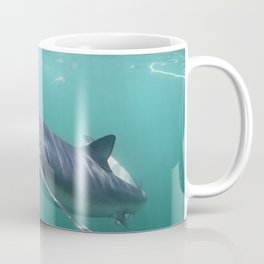 Little Blue Shark Coffee Mug