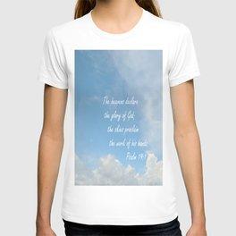 The Heavens Declare T-shirt