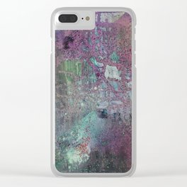 Abstract Confession Clear iPhone Case