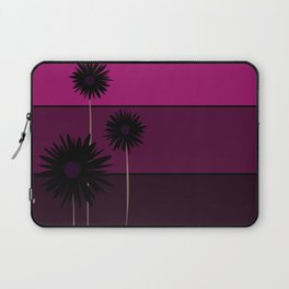 simple flowers - teal Laptop Sleeve