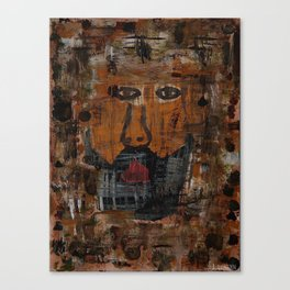 Abstract Man Canvas Print
