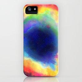 Donut Nebula iPhone Case