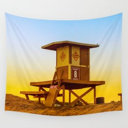 lifeguard tower Wall Tapestry