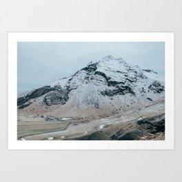 Icelandic Pyramid Art Print