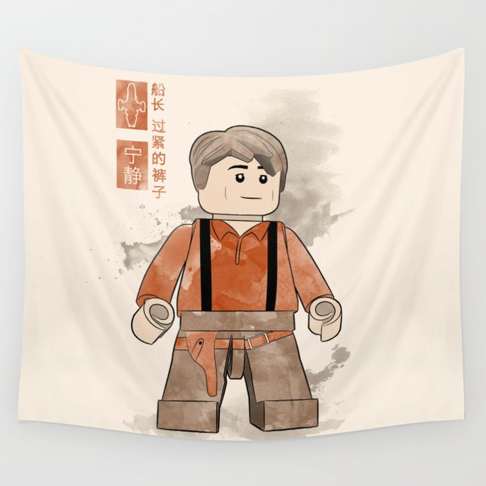 Captain Tightpants (Lego Firefly) Wall Tapestry