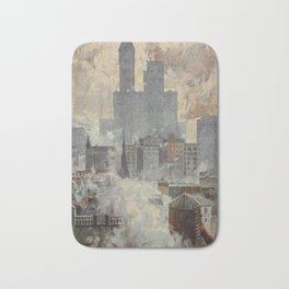 Lewis, Martin (1881-1962) - New York 1911 - Lower End of the City Bath Mat