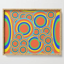 Mod - Colorful Circles Serving Tray