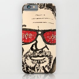 """The Dude Abides"" featuring The Big Lebowski iPhone Case"