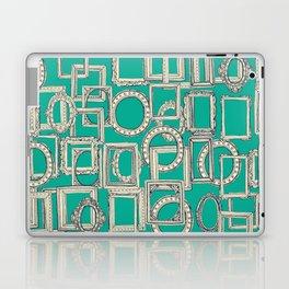 picture frames aplenty indigo jade Laptop & iPad Skin