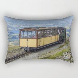 Train To Snowdon Rectangular Pillow