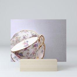 Grey Teacup Mini Art Print