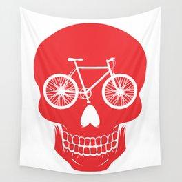 Bikehead Wall Tapestry