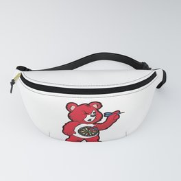 DARTS TEDDY BEAR Dart Player 180 Dartboard Gift Fanny Pack
