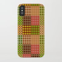 quilt iPhone & iPod Cases featuring quilt by Isabella Asratyan