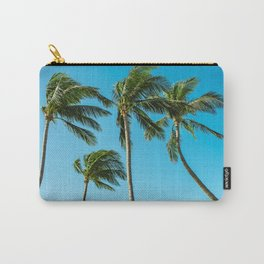 Coconut Palm Trees Carry-All Pouch