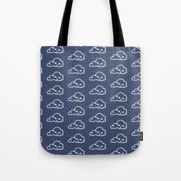 clouds pattern Tote Bag