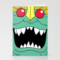thundercats Stationery Cards featuring Mumm-Ra - Thundercats by Dukesman