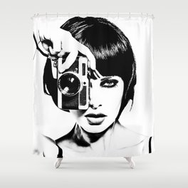 Korolkovas' Valentina Shower Curtain