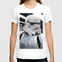 storm T-shirts featuring Stormtrooper by Liam Brazier